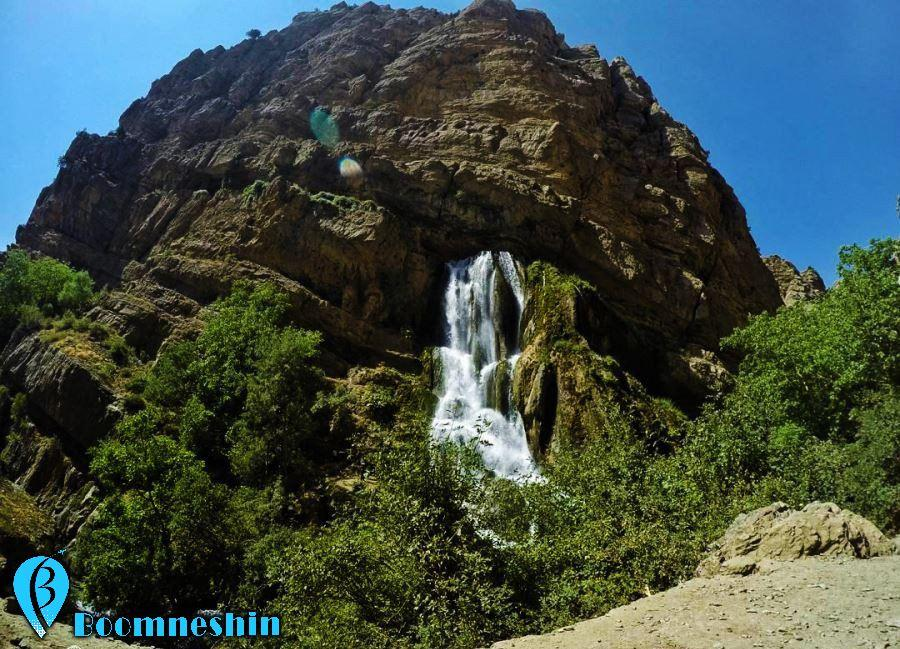 آبشار آب سفید الیگودرز، عروس آبشارهای ایران