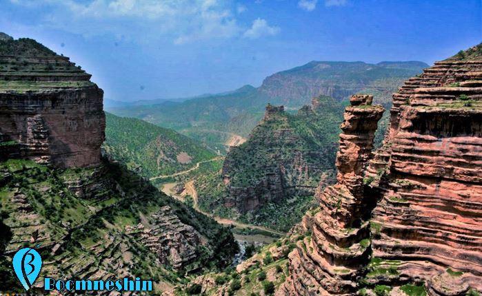 آریزونای ایران، تنگه شیرز کوهدشت