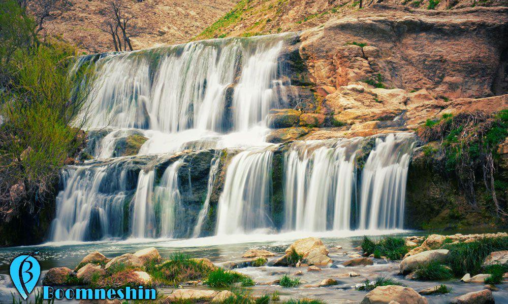 آبشار گریت یا آبشار هفت چشمه خرم آباد