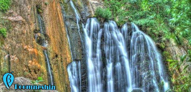 سفر به آبشار وارک ، آبشار پلکانی خرم آباد