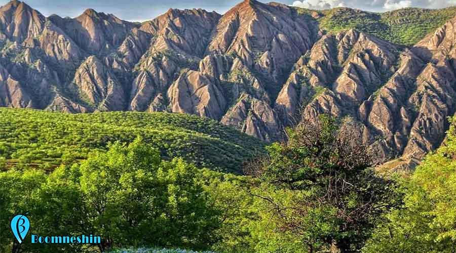 مهراب کوه دلفان ، كوهی پر از رمز و راز و افسانه ای