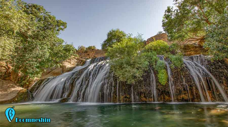آبشار گریت یا هفت چشمه، آبی گوارا در دل طبیعت لرستان