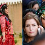 گلونی ؛ پوشش سه هزار ساله ایرانی | سربندی که مردان هم بر سر میکنند