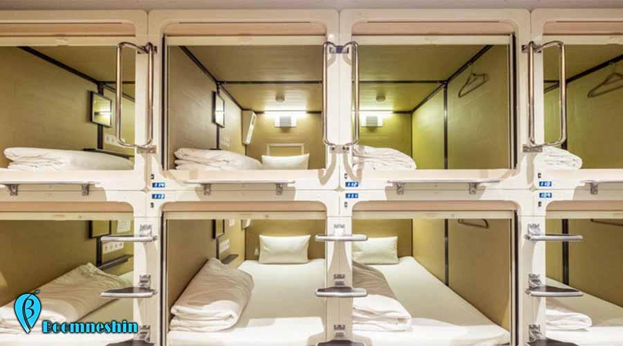 اقامتگاه هایی به نام هتل های کپسولی