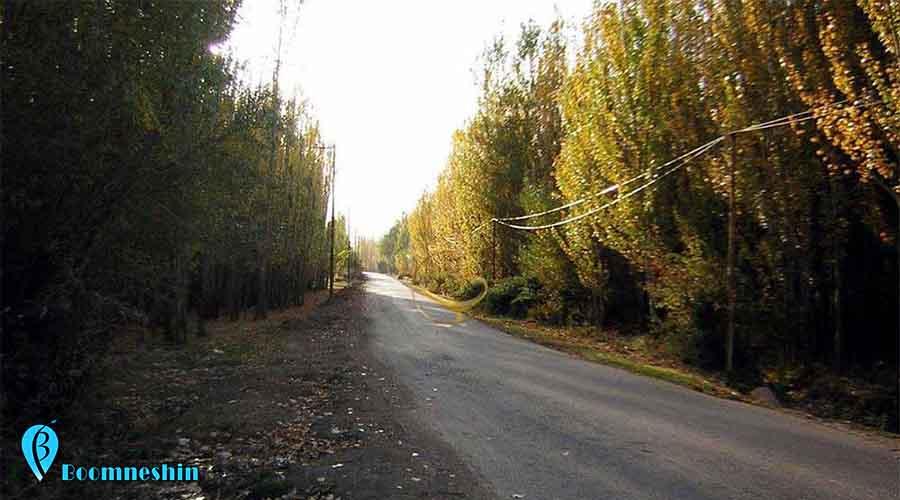 روستا و سراب دربند دهستانی بزرگ و سرسبز در ازنا