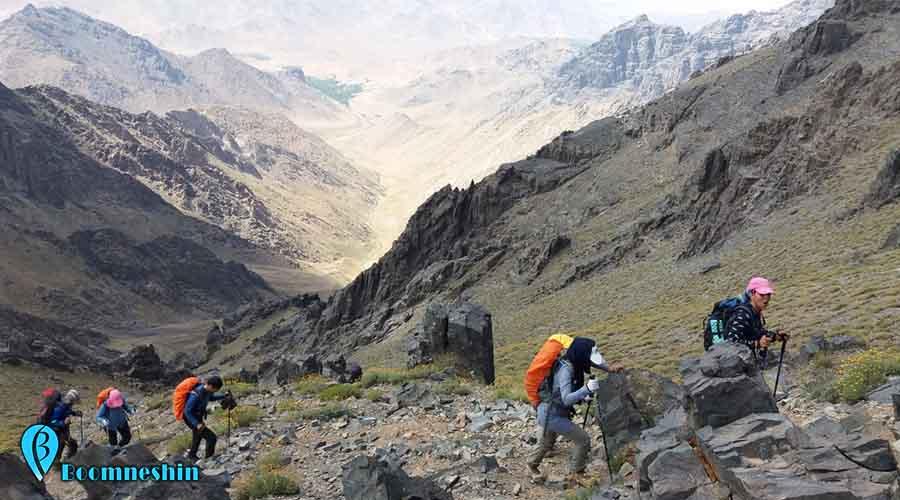 کوه کرکس نظنز اصفهان