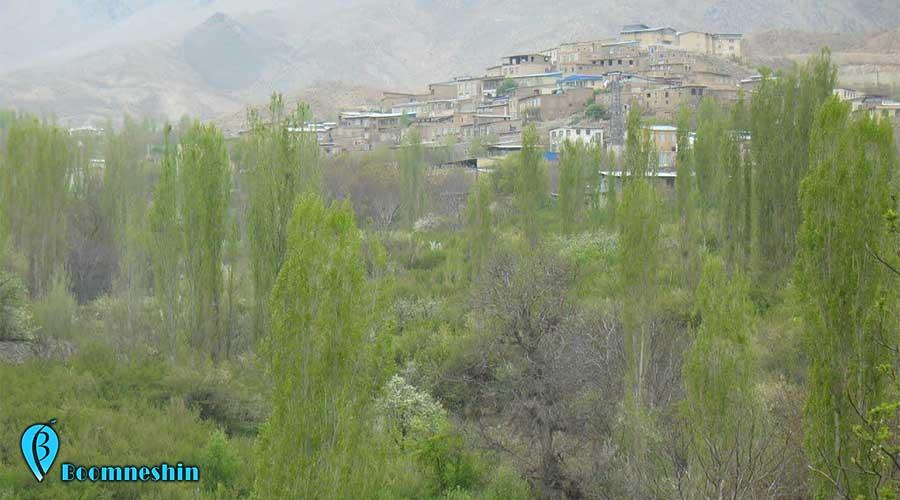 قهرود روستای سرسبز و زیبای قمصر اصفهان
