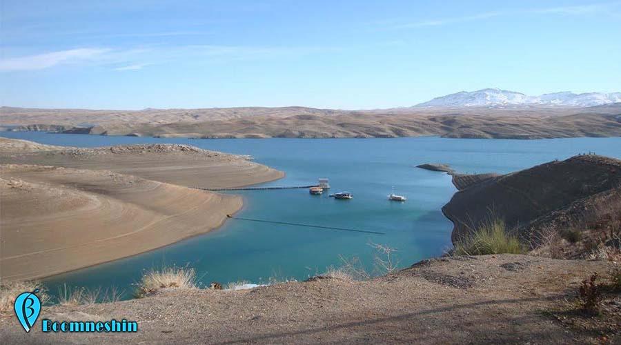 دریاچه سد خمیران تجربه ای هیجان انگیز و متفاوت در اصفهان