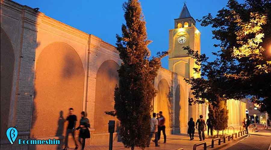 محله جلفا ، تلفیقی زیبا از هنر ایرانی و ارمنی