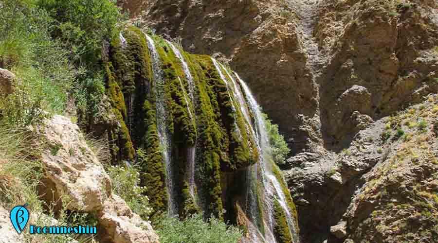آبشار پونه زار، تکه ای از بهشت گمشده در اصفهان