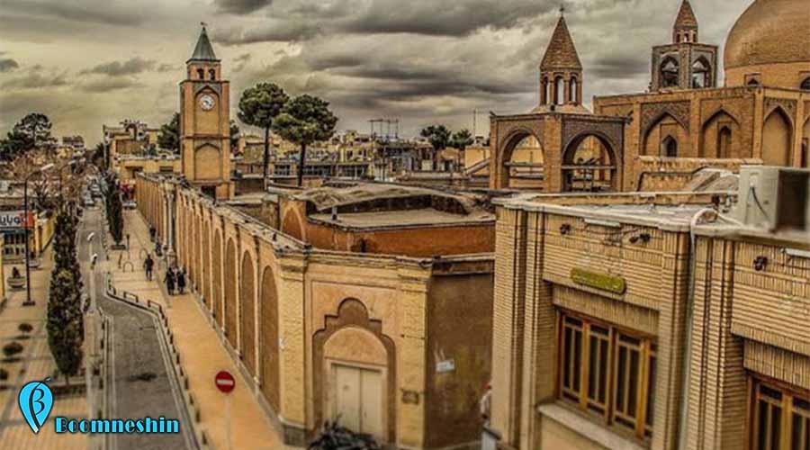محله جلفا ، تلفیقی خیرهکننده از هنر ایرانی و ارمنی